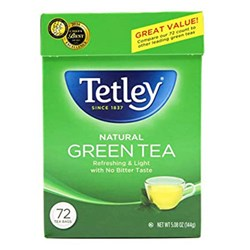 Picture of Tetley Natural Green Tea 72ct