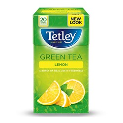 Picture of Tetley Green Tea With Lemon