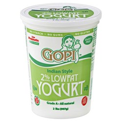 Picture of Gopi Low-Fat Yogurt 2lb.