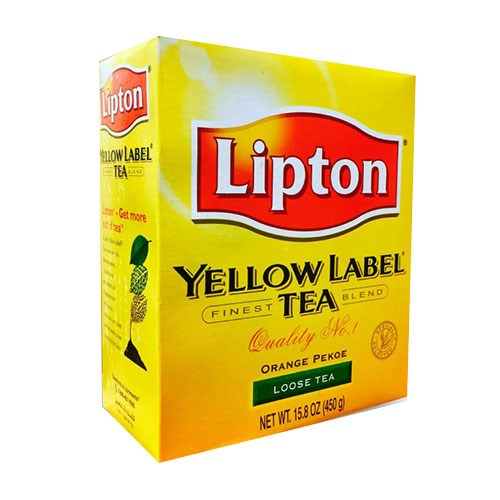 Picture of Lipton Yellow Label Tea 450gm