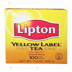 Picture of Lipton Yellow Label Tea 100ct