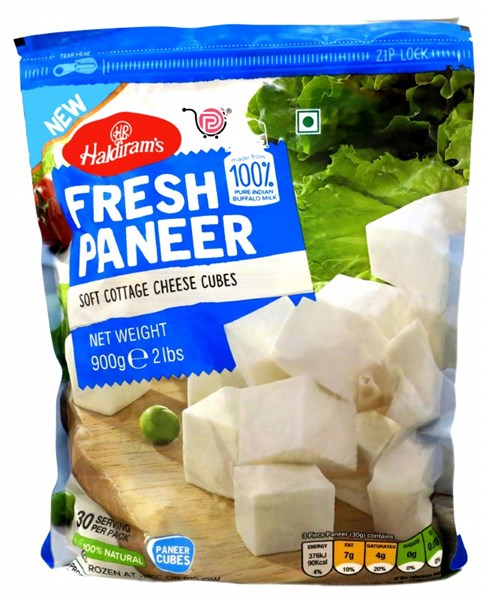 Picture of Haldiram Paneer Cubes 900gm.