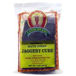 Picture of Laxmi Dark Brown Jaggery 2lb