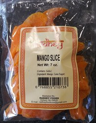 Picture of Radhey Mango Slice 7oz