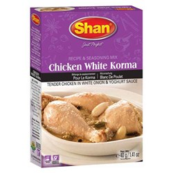 Picture of Shan Chicken White Korma 40gm