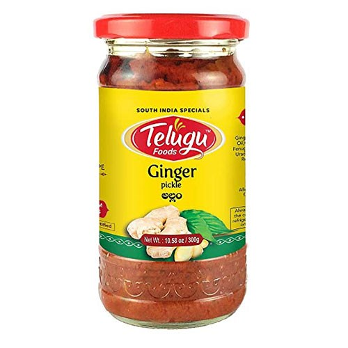 Picture of Telugu Ginger Pickle 300gm
