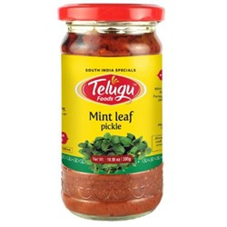 Picture of Telugu Mint Pickle 300gm