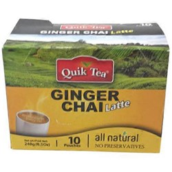 Picture of Quick Tea Ginger Chai 8.5oz