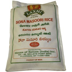 Picture of Laxmi Sona Masoori Rice 20lb