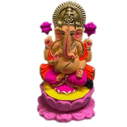 Picture of Ganesha Idol Clay 7 Inch