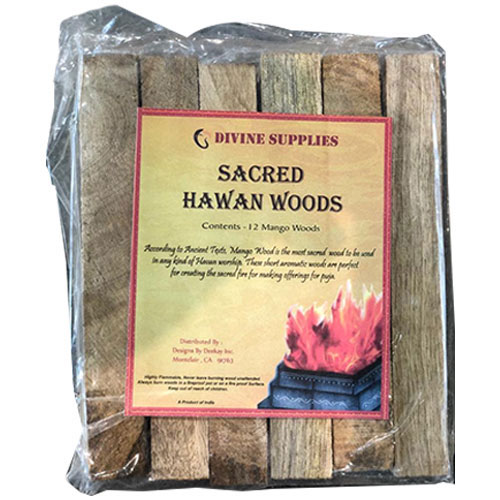 Picture of Sacred Hawan Mango Wood 12pk