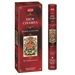 Picture of Hem Champa Incense 6pk/20pc