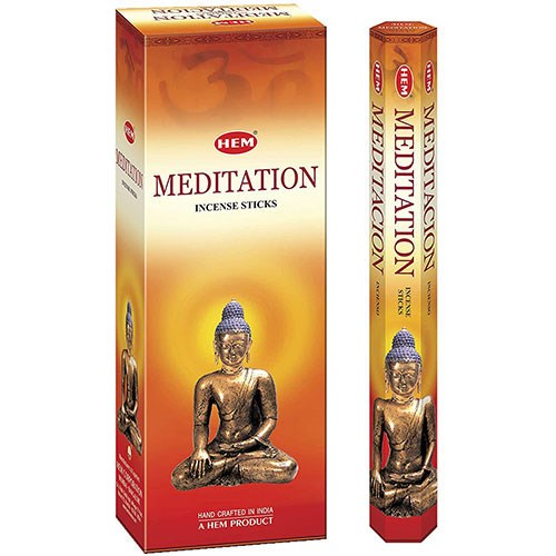 Picture of Hem Meditation Incense 6pk/20pc