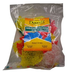 Picture of Anand Sabudana Papad Crackers Color 14oz