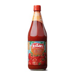 Picture of Kissan Tomato sauce No Onion No Garlic 500g