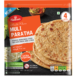 Picture of Haldiram Muli Paratha 400gm