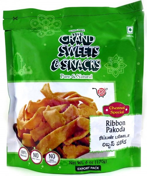 Picture of Grand Sweets Ribbon Pakoda 170gm