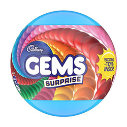 Picture of Cadbury Gem Suprise Ball 17.8gm