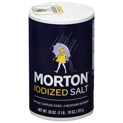 Picture of Morton Iodized Salt 1lb