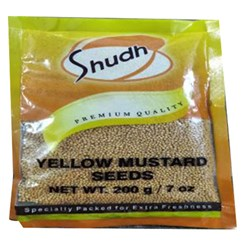 Picture of Shudh yellow mustard 7oz
