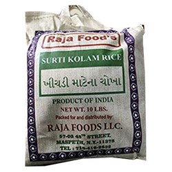 Picture of Raja Food Surati Kolam Rice 10lbs