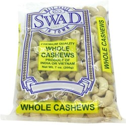 Picture of Swad Whole Cashews 7oz