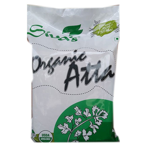 Picture of Siva Organic Whole Wheat Atta 20lb.