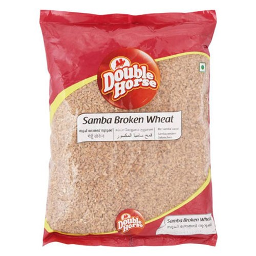 Picture of Double Horse Samba Wheat Broken 1 kg