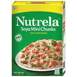 Picture of Nutrela Nutrella Soya Chunk Mini 200gm
