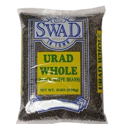 Picture of Swad Urad Whole Black 2lb.