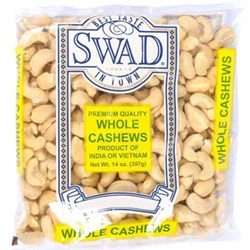Picture of Swad Cashew Whole 14oz