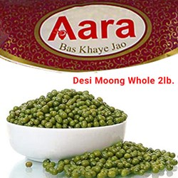 Picture of Aara Desi Moong Whole 2lb.