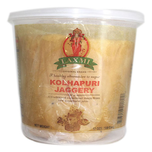 Picture of Laxmi Kolhapury Jaggery 500gm