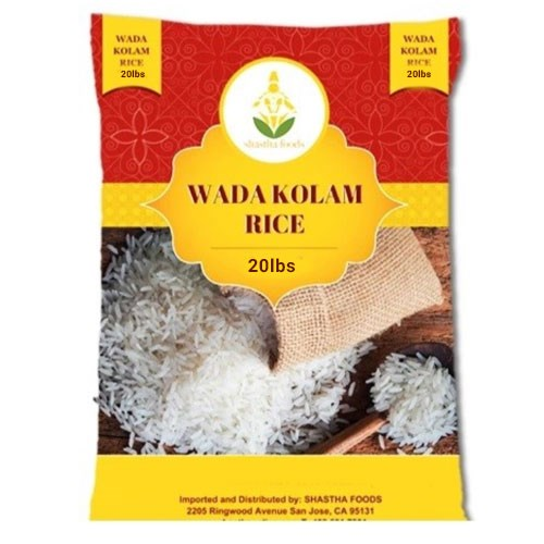 Picture of Shastha Wada Kolam Rice 20lb.