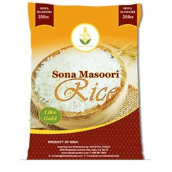 Picture of Shastha Sona Masoori Rice 20lb.