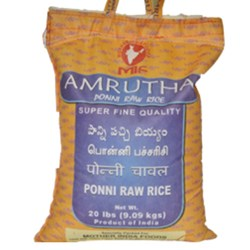 Picture of Amrutha Ponni Raw Rice 20lb.