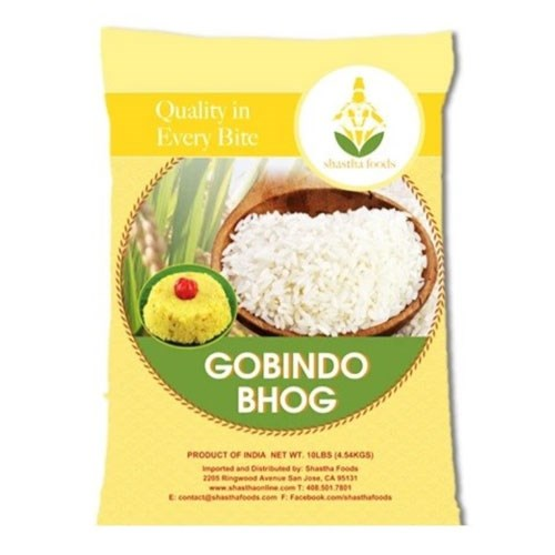 Picture of Shastha Gobind Bhog Rice 10lb.