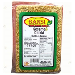 Picture of Bansi Sesame Chikki 3.5oz