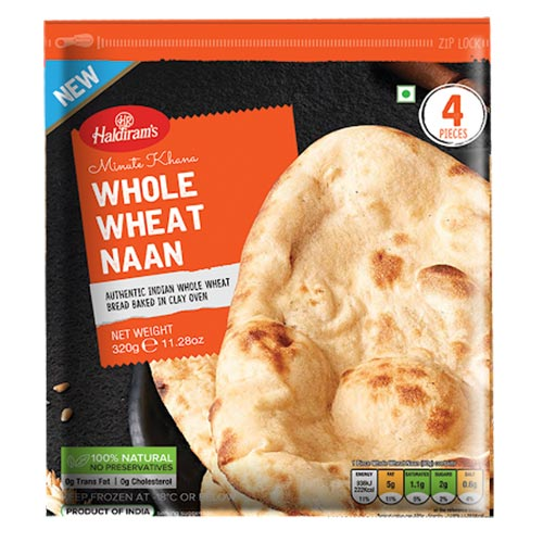 Picture of Haldiram Whole Wheat Naan 320gm