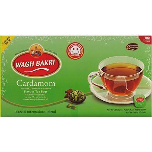 Picture of Wagh Bakri Cardamom Tea Bags 100 Pc