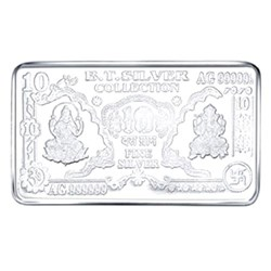 Picture of Laxmi Silver Note 10 g