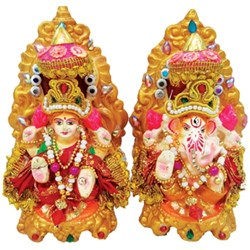Picture of Mitti Laxmi Ganesh Pair 5 Inch