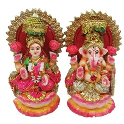 Picture of Laxmi Ganesh Pair 8 Inch