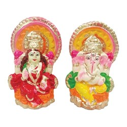 Picture of Mitti Laxmi Ganesh Pair 4 Inch