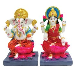 Picture of Laxmi Ganesh Pair 7 Inch