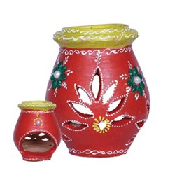 Picture of Clay Diya Oil Lamp 5 Inch