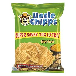 Picture of Uncle Chips Spicey 60gm